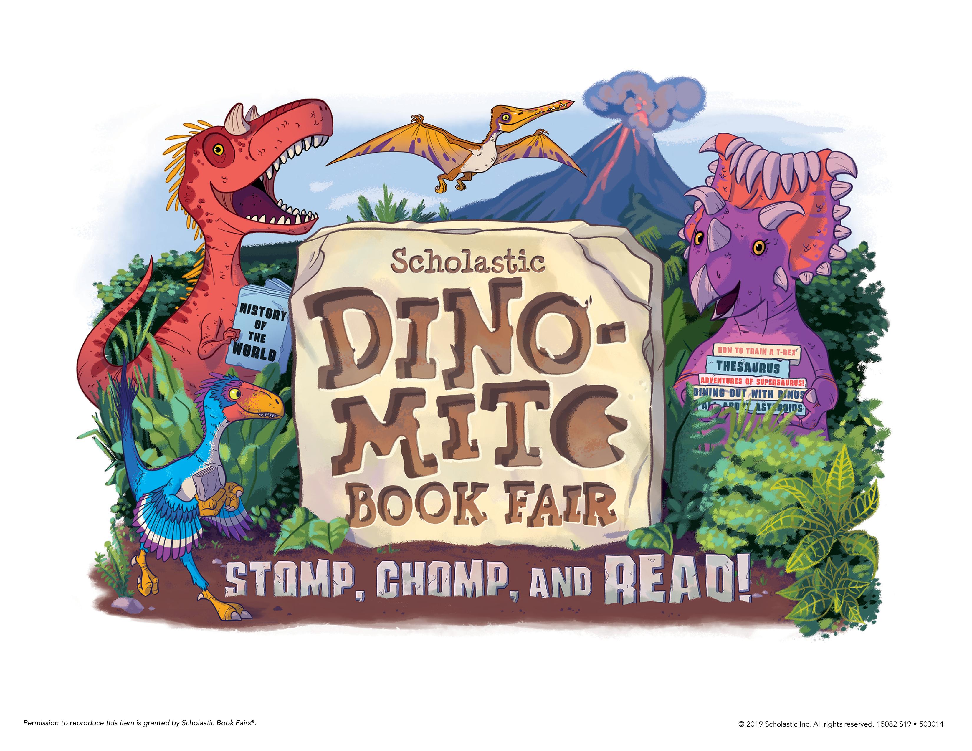 Scholastic Book Fair theme