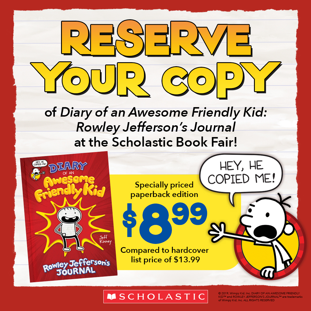 Order the new Wimpy Kid book
