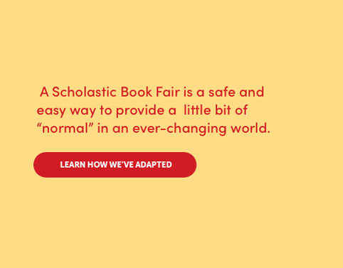 A Book Fair can provide a little normal in a changing world. Learn how we've adapted.